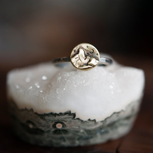 Midnight Mountain Adventure Ring