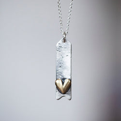 Follow Your Heart Arrow Necklace