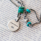 Sterling Silver and Turquoise Warrior Necklace