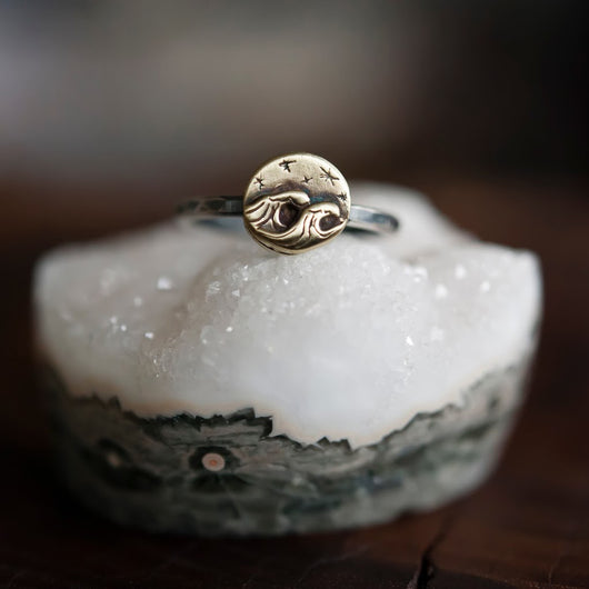 Ocean Adventure Bronze Ring