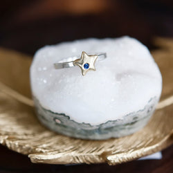 Birthstone Star Ring