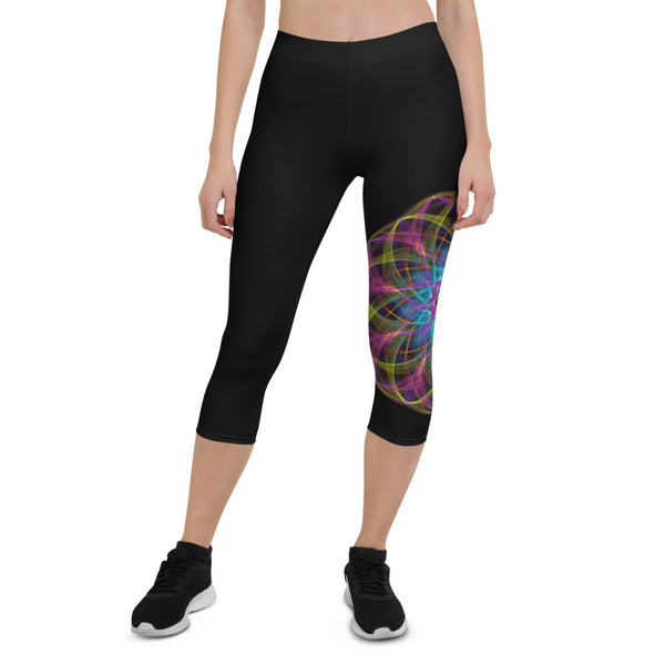 Capri Leggings II Mandala : Processing
