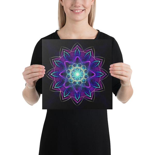 Canvas Mandala : Perspective