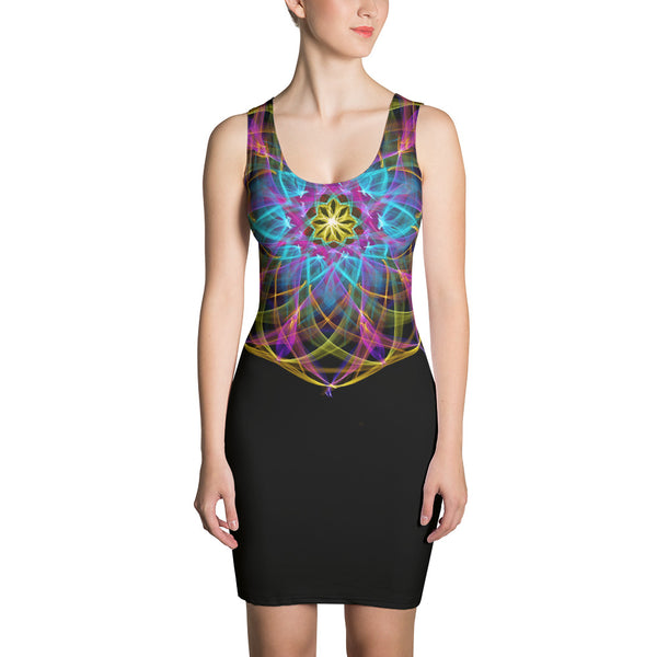 "Fitted Dress Mandala "" Processing II"
