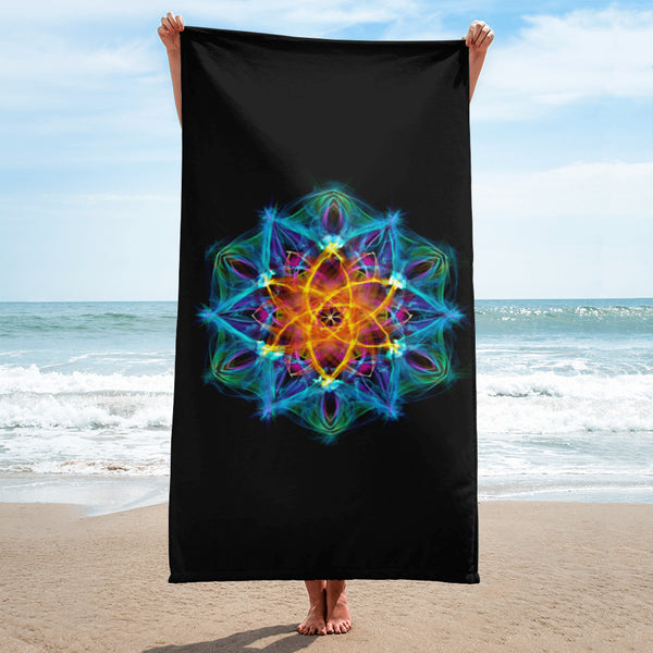 Towel Mandala : Healing Light From Within