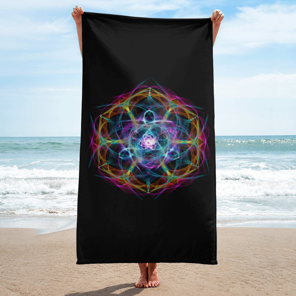 Towel Mandala : Breath