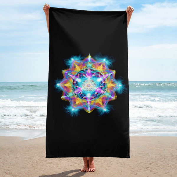 Towel Mandala : Gratitude for the Divine Feminine