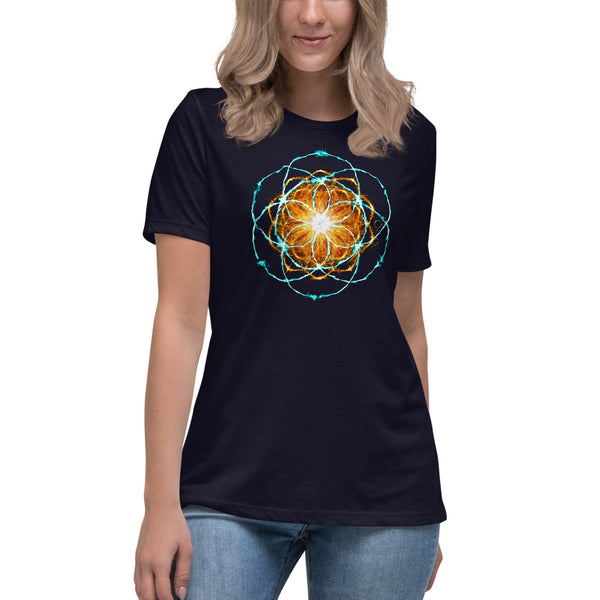 Women's Relaxed T-Shirt Mandala : Inspiration