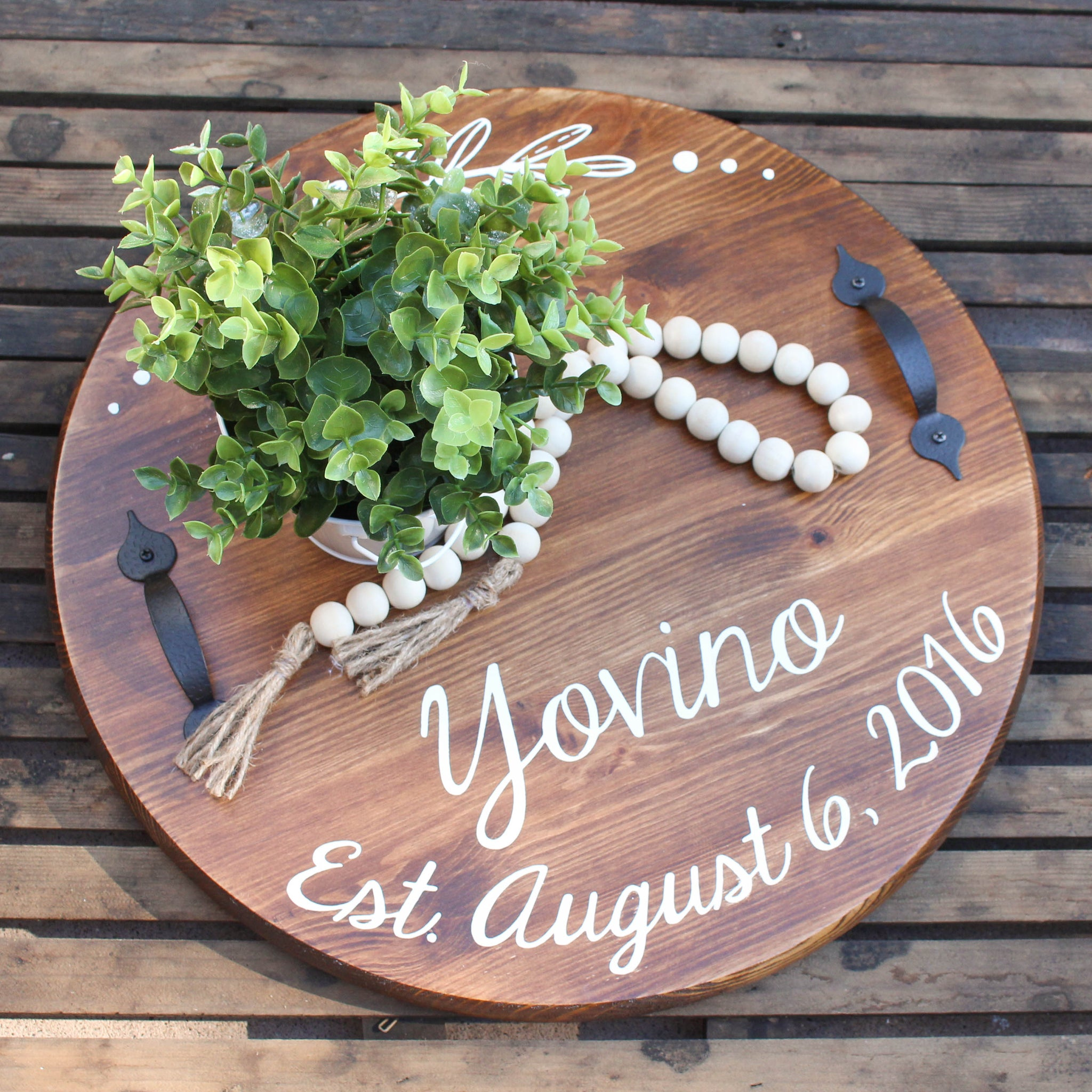 Custom Serving Tray // FREE SHIPPING