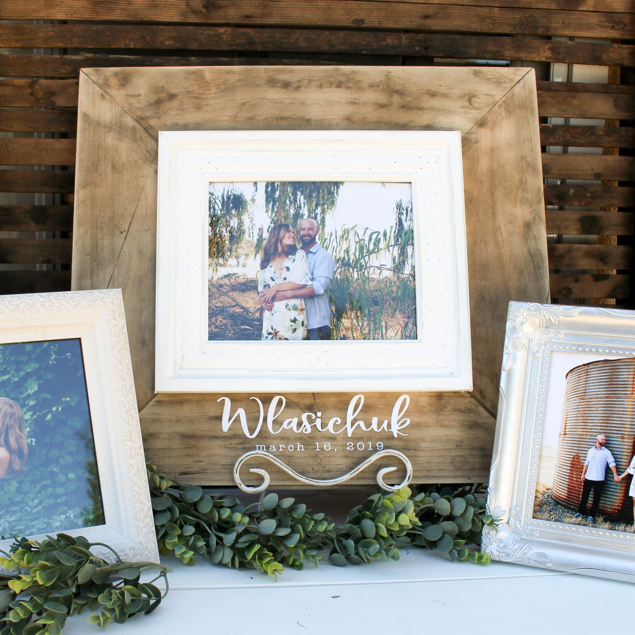 Large Rustic Frame // FREE SHIPPING