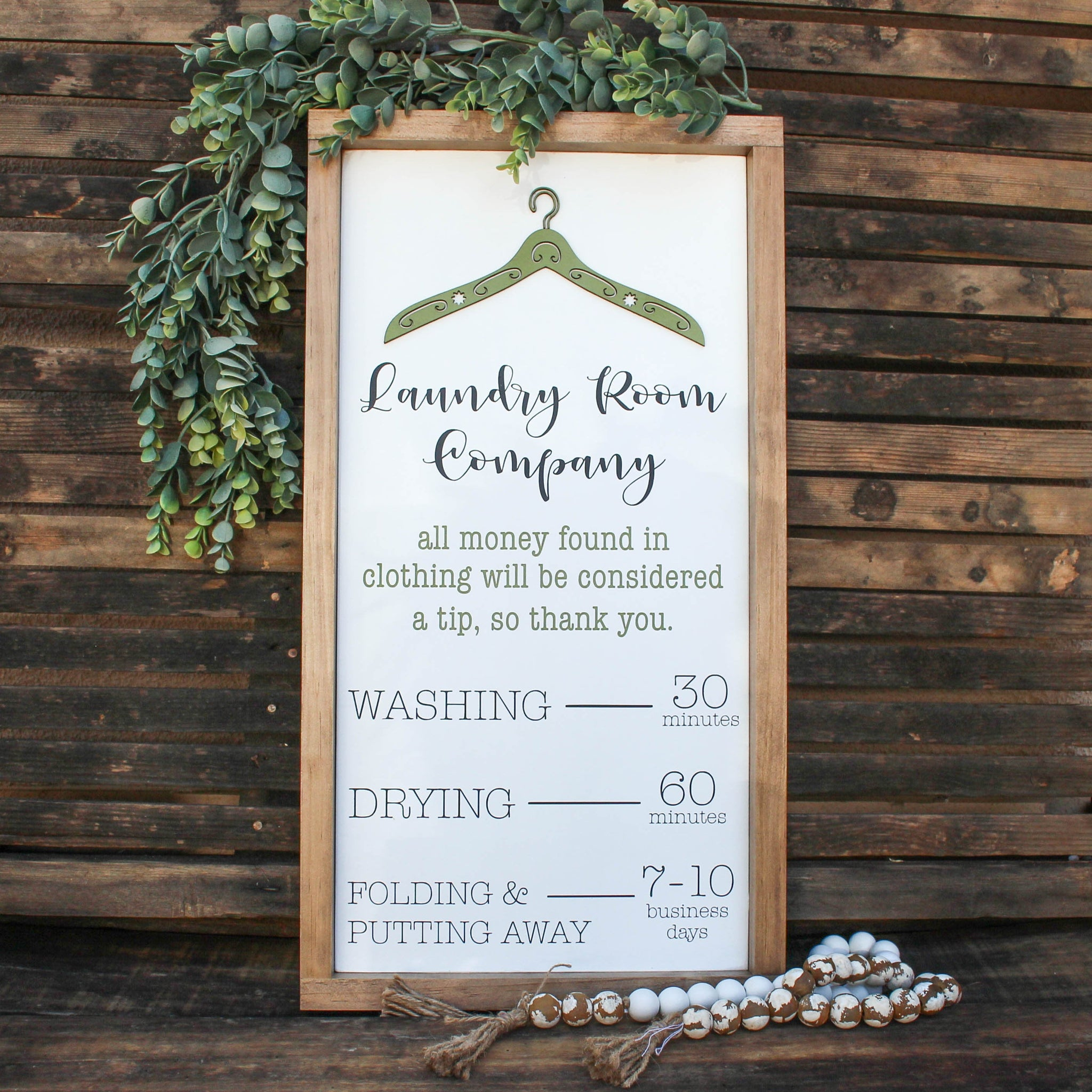 Laundry Room Decor | Laundry Room Sign | Laundry Room Art | Laundry Wood Sign