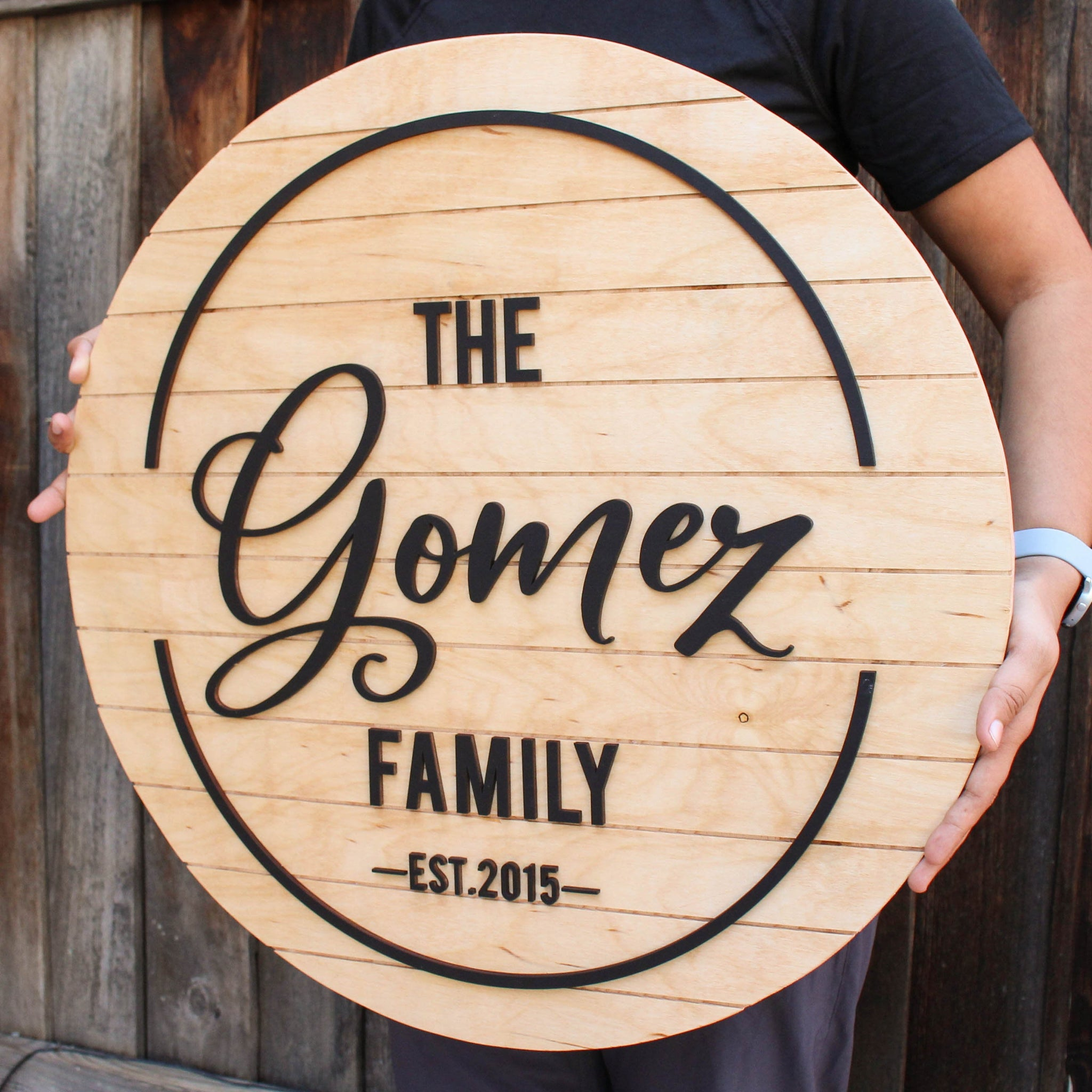 Last Name Sign, Family Name Sign, Wooden Name Sign, Family Name Sign Wood,