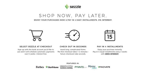 artiful.org sezzle shop now, pay later