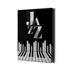Artiful Jazz City New York Canvas Art - Music Art Collection