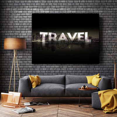 Artiful Travel More Canvas Art - Artiful Travel Art Collections - Definition
