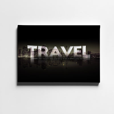 Artiful Travel More Canvas Wall Art - Artiful Travel Art Collections - Definition