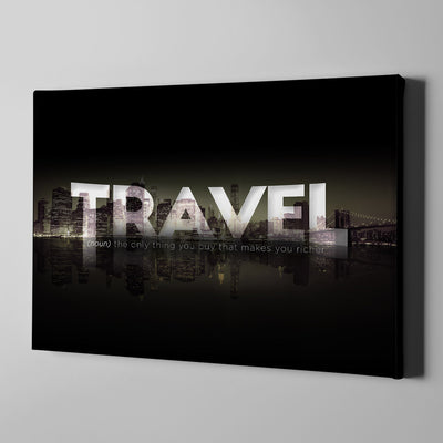 Artiful Travel More Canvas Wall Art - Artiful Travel Art Collections - beautiful