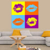 Pop Art Lips Wall Art - Artiful Lips Collection