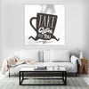 Artiful Coffee To Go Canvas Wall Art - Productivity - Motivation