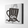 Artiful Coffee To Go Canvas Art