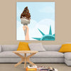 Liberty Ice Cream Canvas Wall Art - Artiful Art Store - homa and office art