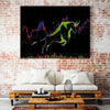 Bull markets Canvas Wall Art - Artiful hustle Art Collection