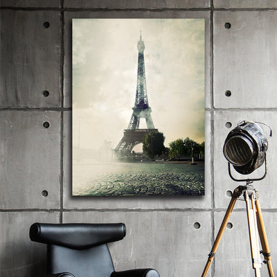 The Eiffel Tower Canvas Art - Artiful French Collection