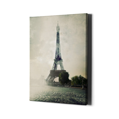 The Eiffel Tower Canvas Wall Art - Artiful Paris Collection