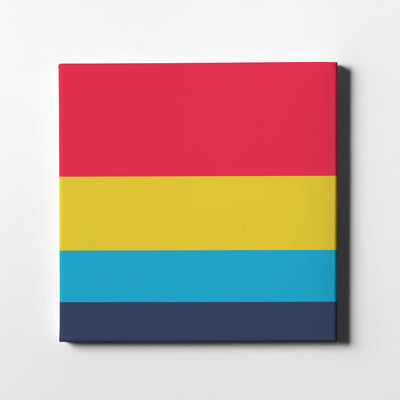 A Fantastic Day Canvas Art - Artiful Color Palette Art Collection