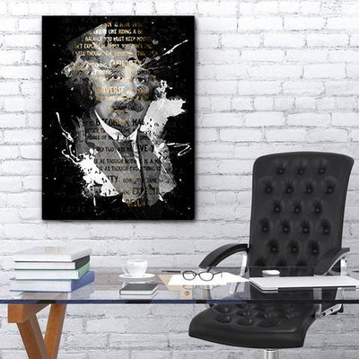 Artiful Albert Einstein canvas art office and home decor