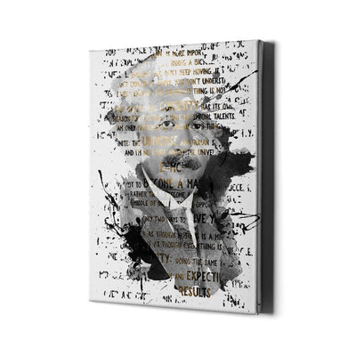Artiful Albert Einstein canvas art