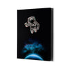 Artiful Astronaut Holding a Beer Canvas - Space Art