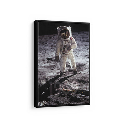 Artiful 1969 Astronaut Canvas Wall art, framed