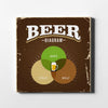 Beer Venn Diagram Canvas Wall Art - Artiful Art Collection