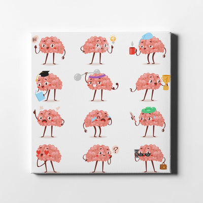 Our Brain Emotions Canvas Art by Artiful - The Good Art Store