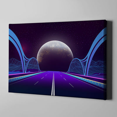 Artiful Bridge To Space Wall Art