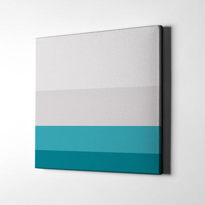 Calming Sky Canvas Wall Art - Artiful Color Palette Art Collection