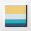 Chill and Relax Canvas Art - Artiful Color Palette Art Collection