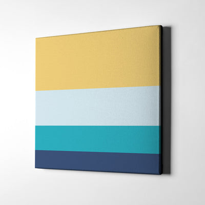 Chill and Relax Canvas Wall Art - Artiful Color Palette Art Collection