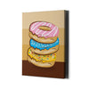 Artiful Donut Palette Canvas Wall Art - Doughnut Collection