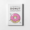 Doughnut anatomy Canvas Art - Artiful Original Art Collection