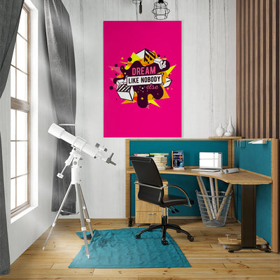 Artiful Dream Like Nobody Else inspirational home or office wall art