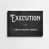Artiful Execution hustle motivational Canvas art