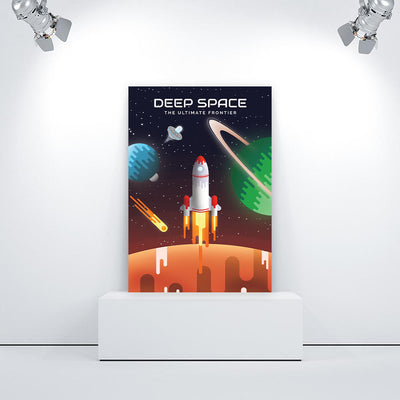 Artiful Space Poster home or office wall art