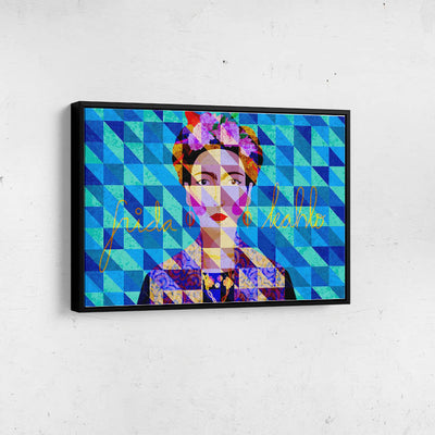 Artiful Frida Kahlo Iconic Canvas Wall Art