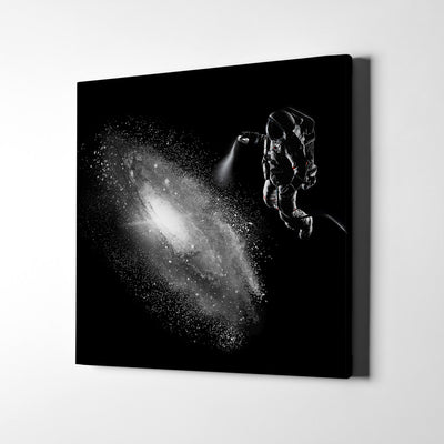 Artiful Galaxy Spray Canvas Art