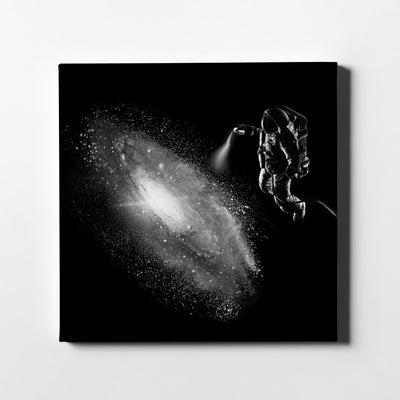Artiful Galaxy Spray Canvas Wall Art