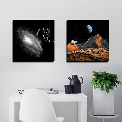 Artiful Galaxy Spray Canvas - Space Collection