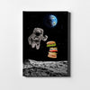 Artiful Gravity Burger Canvas Wall Art