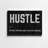 Artiful Hustle motivational Canvas art